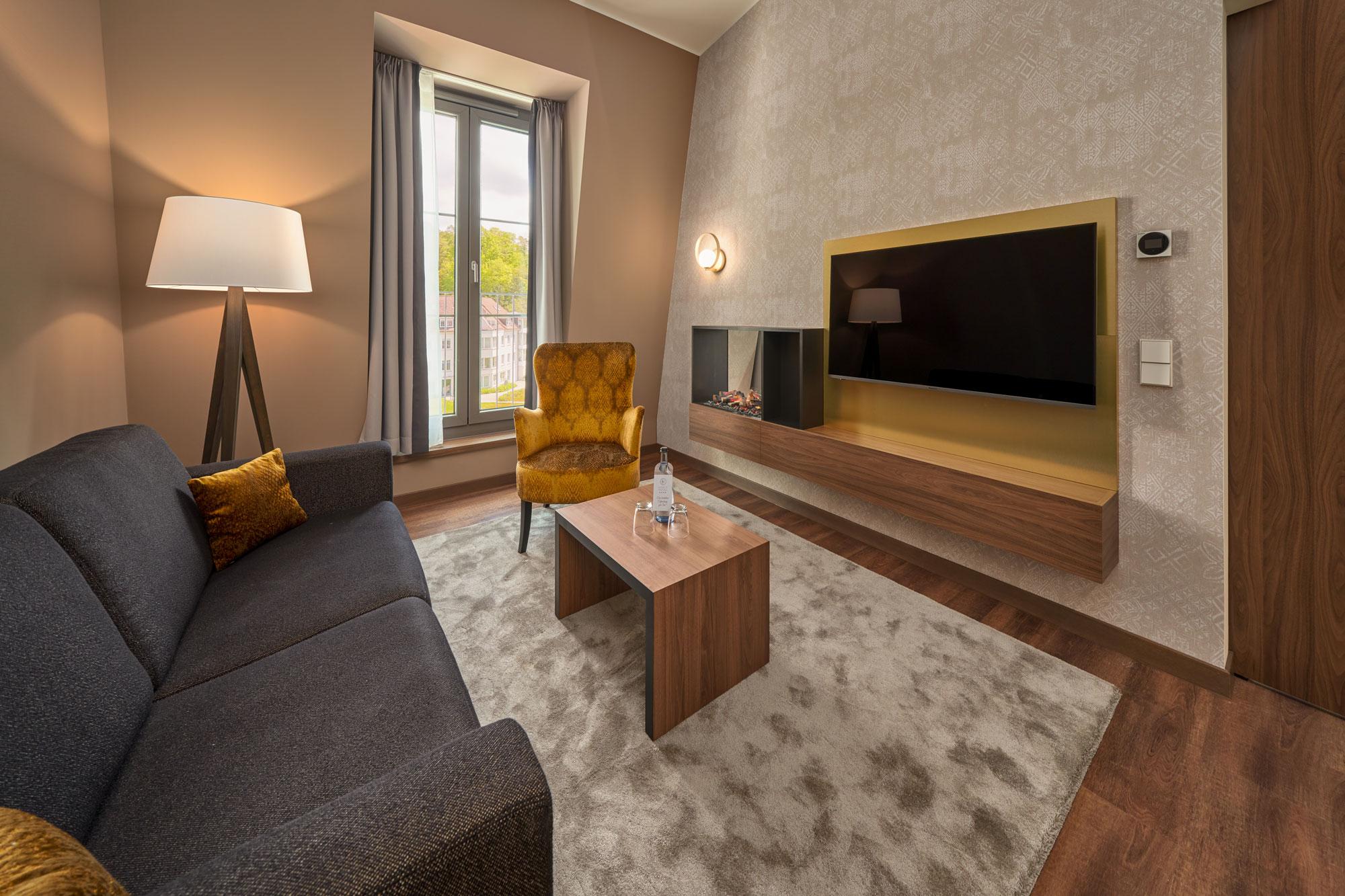 Karls Hotel Sigmaringen Suite Lounge
